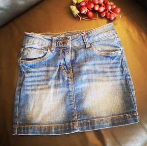 Tex mini  jean skirt for kids